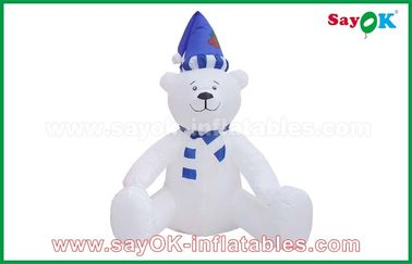 210 D Oxfor Cloth Christmas Snowman Inflatable Holiday Decorations customized