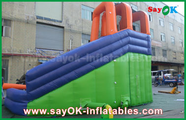 Multi-Functional Giant Outdoor Inflatable Bouncer Slide with Water Pool for Amusement Center