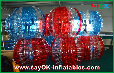 Transparent PVC / TPU Inflatable Soccer Bubble Human Ball for Adult / Kid