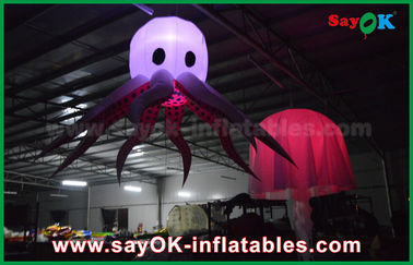 Changeable Color LED Inflatable Stage Octopus For Party And Wedding