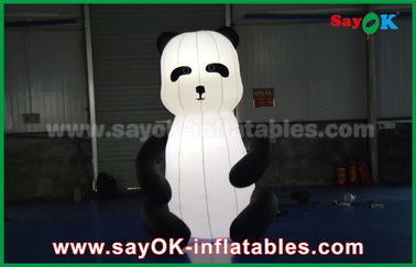 Durable Custom Inflatable Products , Animal Inflatable Panda Cartoon for Advertising