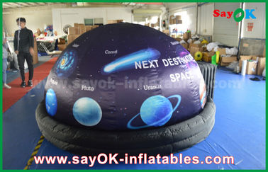 ROHS Full Print With Start Inflatable Planetarium Dome Tent For Movie Projection