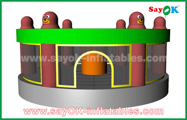 Funny Inflatable Sports Games Human Whack A Mole Game With Air Blower