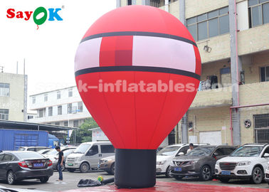 China Oxford Cloth 7m Falling Earth Inflatable Balloon For Outdoor Decoration factory