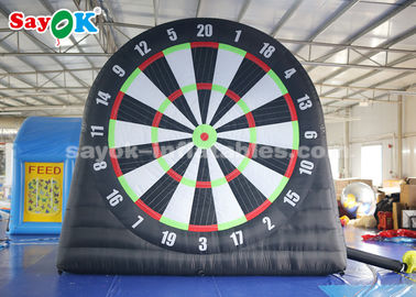 4m 210D Oxford Cloth Inflatable Soccer Darts Board For Sports Games