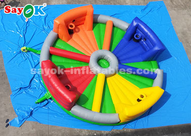 8*8m Chow Down Inflatable Hungry Hippos Game For Kids And Adults Playing