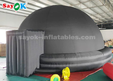 Black 6m Inflatable Planetarium Dome Tent for Kids School Education Equipment