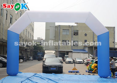 China 8*5m Oxford Fabric Inflatable Start Finish Line Arch For Promotion factory