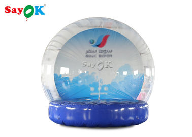 ROHS Inflatable Holiday Decorations Transparent Bubble Tent With  Pump