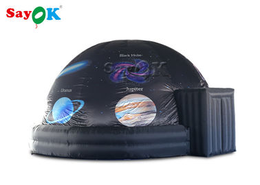Portable Mobile Planetarium Dome Tent / Inflatable Projection Tent  For Education