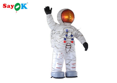 China Customized Inflatable Astronaut Model Balloon / Inflatable Spaceman For Event factory