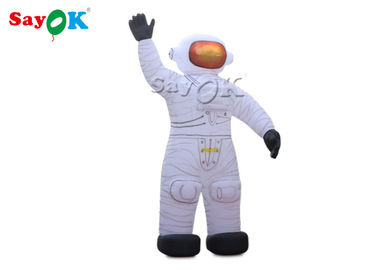 China Oxford Cloth 10m Inflatable Astronaut Cartoon Characters With Air Blower factory