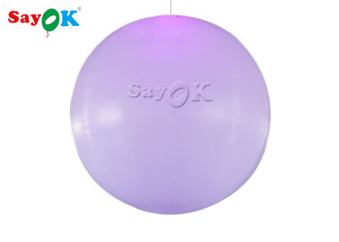 China Portable LED Inflatable Ball / Inflatable Air Balloon For Wedding / Advertising factory