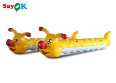 China 6m Funny Carnival Decoration Inflatable Caterpillar For Team Building Games factory