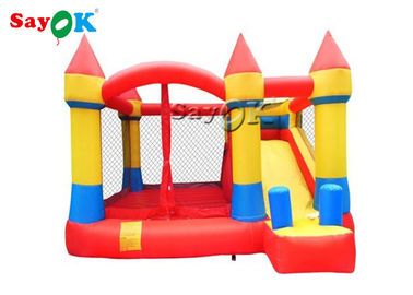 China Oxford Inflatable Playground Childrens Bouncy Castle Fire - Retardant factory