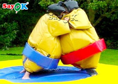 China Healthy Custom Inflatable Products Fighting Foam Padded Sumo Wrestling Suits factory