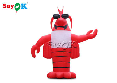 China Sea Animal Crawfish 7M Inflatable Lobster Model factory