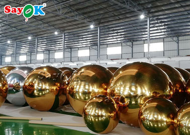 China Park Advertising 3.5m Inflatable Mirror Ball factory