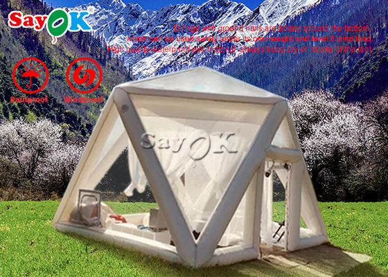Advertising Inflatable Transparent House Bubble Tents For Camping
