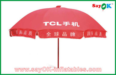 Advertising Red Sun Umbrella