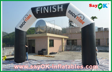 China 6M x 3M Inflatable Start Line Arch For Advertising Campaign Oxford Cloth / PVC factory