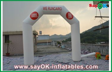 China Outdoor Durable PVC Inflatable Arch Logo Printing 4m x 4m Customized factory