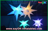 Wedding Hanging Inflatable Lighting Decoration Inflatable Led Star