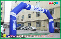 PVC Outdoor Event Inflatable Arch , Sports Finsh Inflatable Finish Arch
