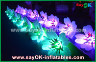 10m Oxford Cloth Inflatable Lily Flower Chan For Romantic Wedding