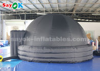 4m 100% Blackout Inflatable Planetarium Dome With PVC Floor Mat For School Teaching