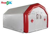 Large Airtight Mobile Hospital Inflatable Medical Tent To Set Medical Beds