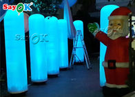 Custom LED Inflatable Column Pillar For Wedding /  Stage / Party Entrance Decoration