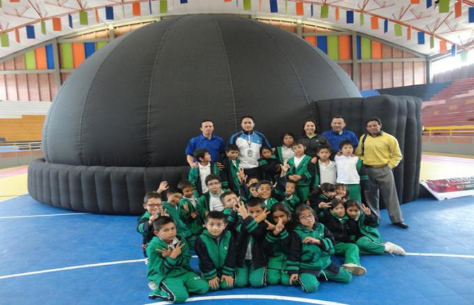 Oxford Cloth Inflatable Portable Planetarium Dome Tent For Children Fun Learning