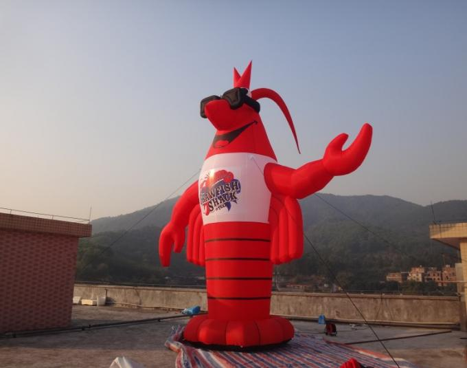 Outdoor White 10 Meter Inflatable Robot Inflatable Cartoon