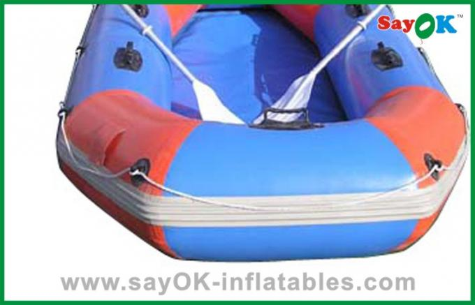 2 Persons Customized Inflatable Boats 1.2mm PVC Tarpaulin Water Toy Boat