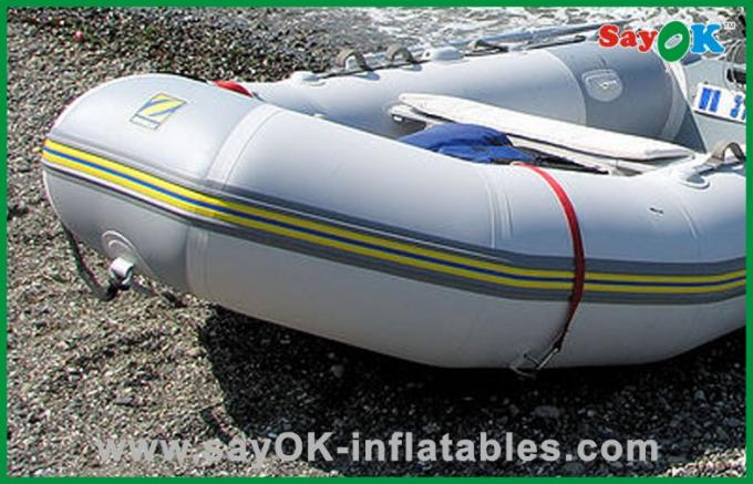 Customized 4 Person Inflatable Paddle Boat Small Commercial Fishing Boat