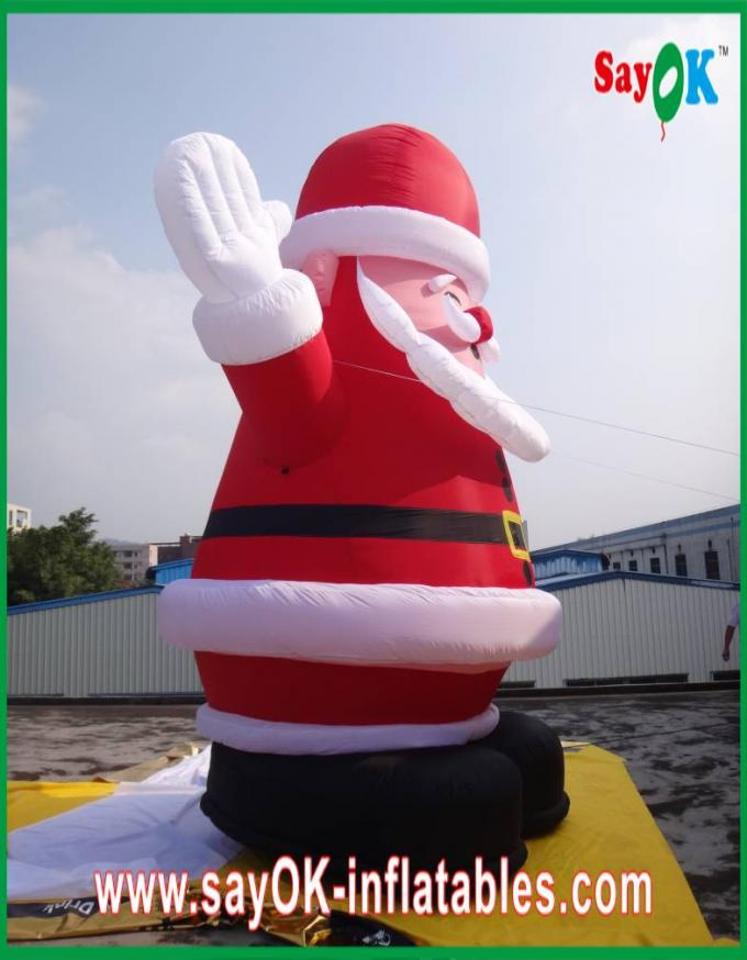 Christmas giant santa claus inflatable cartoon characters