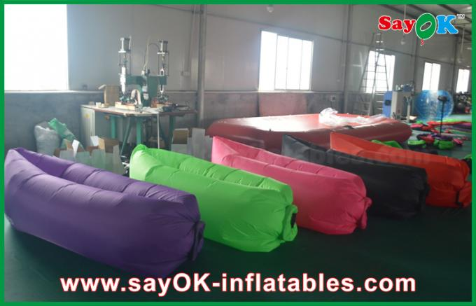 260x70cm Beach Sleeping Air Couch Bag Sofa With Customized Colors For Selling