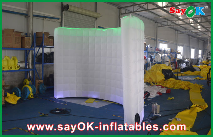 Exhibition Booth Partition : Exhibition instant photo booth with internal fan partition use