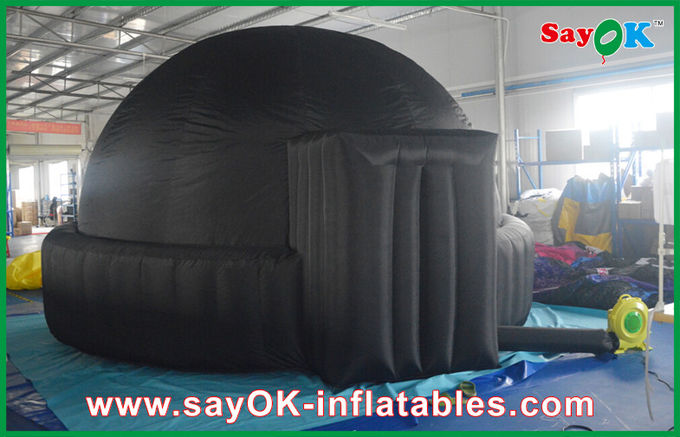 China Mobile 5m Giant Black Inflatable Planetarium For Schools / Air Dome Tent supplier & 5m Giant Black Inflatable Planetarium For Schools / Air Dome Tent
