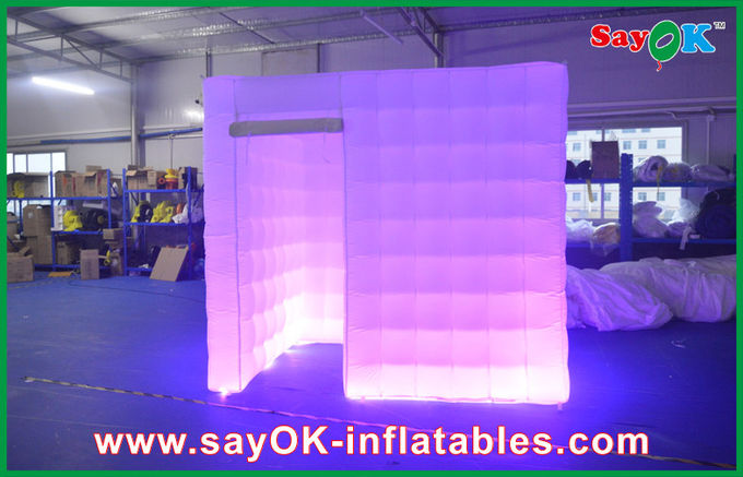 China White Lighting Cube Inflatable Photo Booth Tent Left Door For Party supplier  sc 1 st  Quality Inflatable Air Tent u0026 Inflatable Planetarium Manufacturer & Lighting Cube Inflatable Photo Booth Tent Left Door For Party azcodes.com