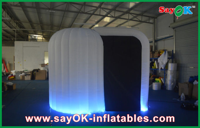 Giant Inflatable Led Snail Rental Photo Booth Commercial