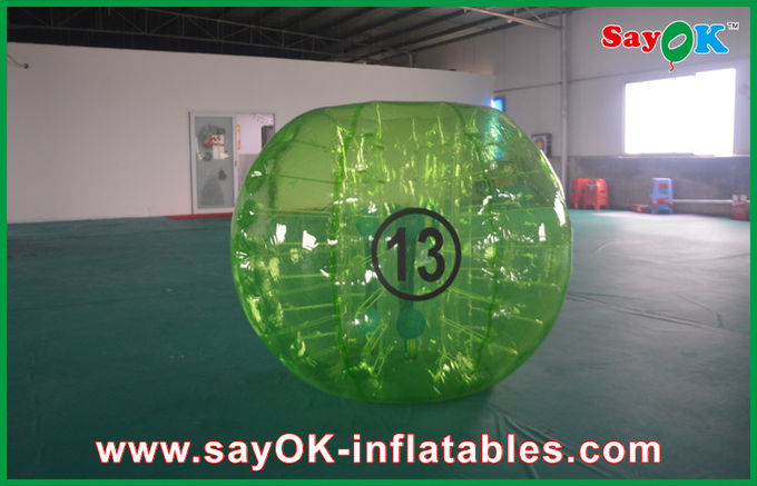 how to clean bubbleball knockerball