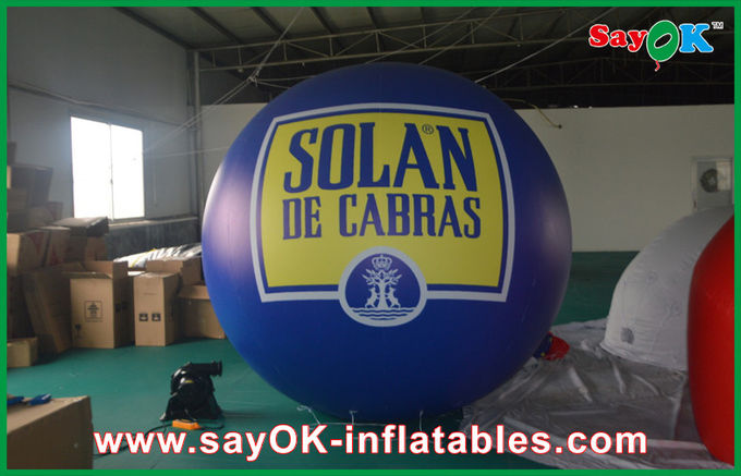0.2mm Pvc Promotional Lighting Inflatable Helium Balloon with Print