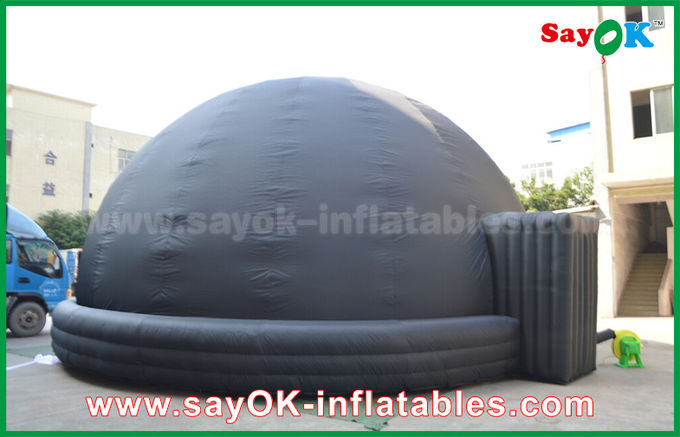 Black Blow Up Inflatable Mobile Planetarium Dome Projection Tent With Air Blower & Blow Up Inflatable Mobile Planetarium Dome Projection Tent With ...