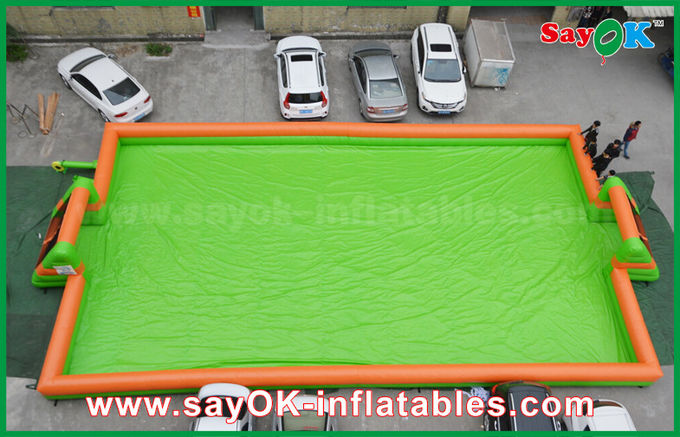 0.55 PVC Inflatable Sports Games Portable Football Field / Football Pitch