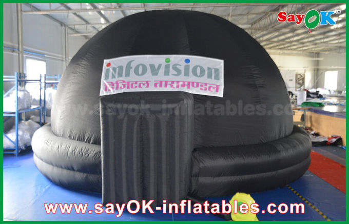 Planetarium 360 Movie Inflatable Projection Tent Inflatable Dome Tent For Museums