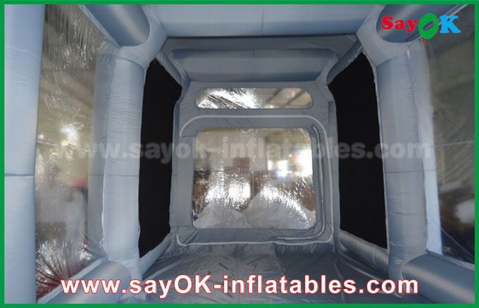 PVC Spray Booth Waterproof Inflatable Bubble Tent For Car