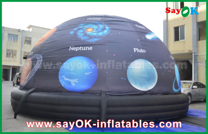 6m 210 D Oxford Cloth Portable Inflatable Planetarium Dome for Cinema with Full Printing