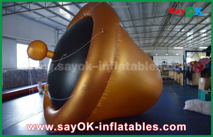 So Cool Customized PVC High Quality Helium Bells Inflatable Model For Advertising
